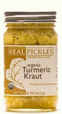 Real Pickles Turmeric Kraut