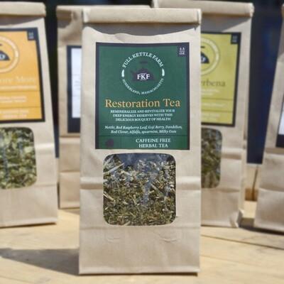 Full Kettle Loose Leaf Tea - Restoration