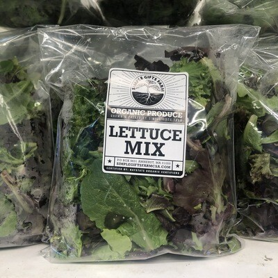 **SGF Bagged Lettuce Mix