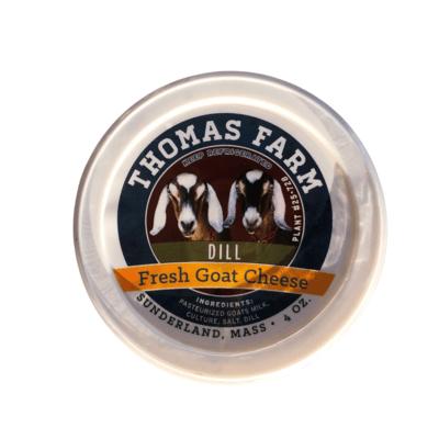 Thomas Farm Fresh Goat Cheese 4 oz. - Dill