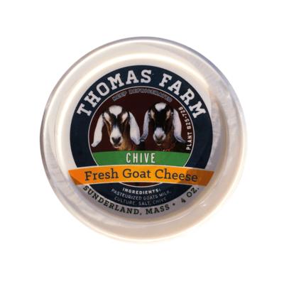 Thomas Farm Fresh Goat Cheese 4 oz. - Chive