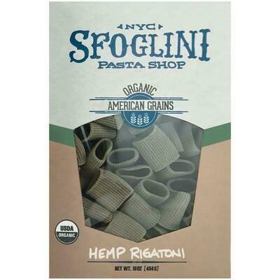Sfoglini Pasta Shop Hemp Rigatoni