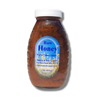Warm Colors Apiary Raw Honey 1 lb. - Buckwheat