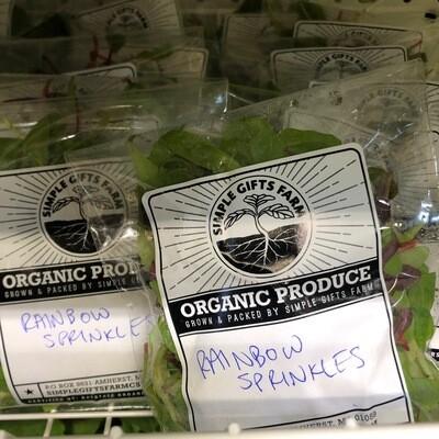Microgreens , Rainbow Sprinkles - Bag*  Simple Gifts Farm