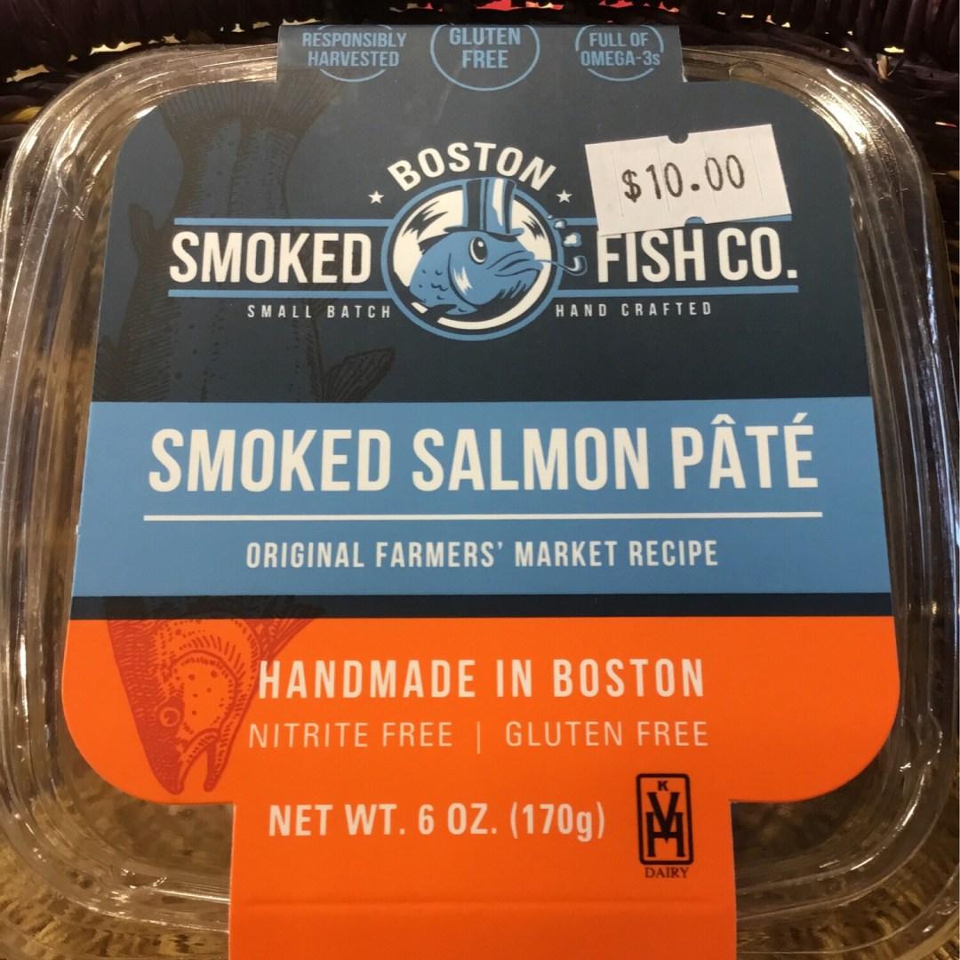 Boston Smoked Fish Company Salmon Pate 6oz.