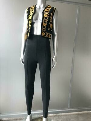 ROMEO GIGLI HIGH-WAISTED TROUSERS