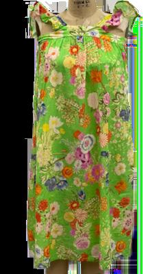 Vintage Acid Green Dress