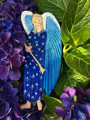 Blue Trumpeter Angel