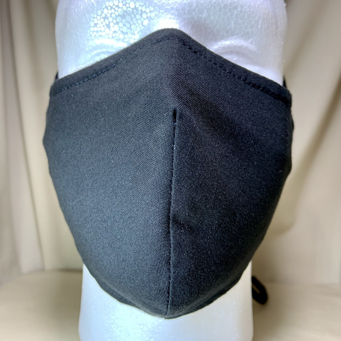 Black Face Covering - Large - Non-Medical