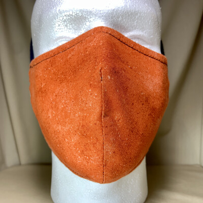 Bright Orange Face Covering - Large - Non-Medical