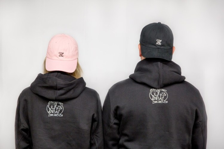 Cow and Sow Dad Cap