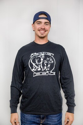 Cow and Sow Logo Unisex Longsleeve