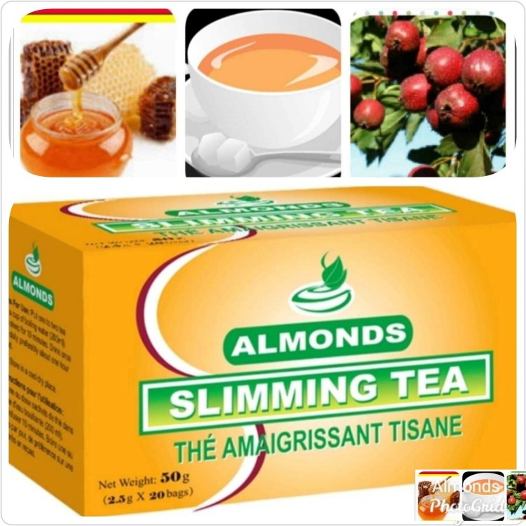 Almonds Slimming Tea