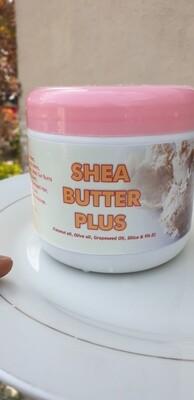 Shea Butter Plus Skin And Hair Cream