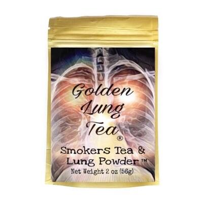 Smokers Tea & Lung Powder 2oz