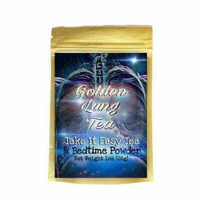 Take It Easy Tea & Bedtime Powder 1oz