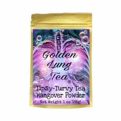 Tipsy-Turvy Tea Hangover Powder 1oz