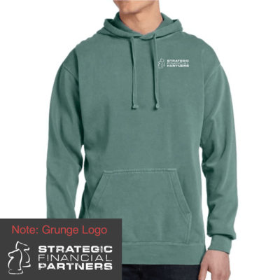 Branded Comfort Colors Hoodie - Light Green