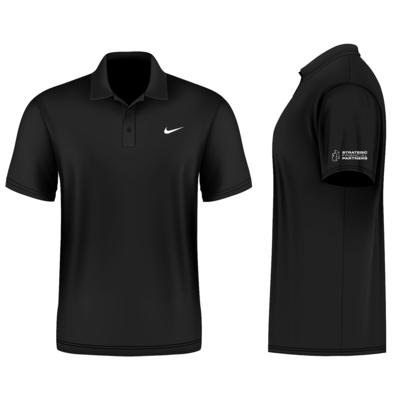 Branded Nike Golf Shirt - Black