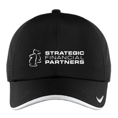 Branded Golf Hat - Black