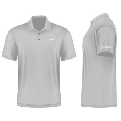 Branded Nike Golf Shirt - Light Grey