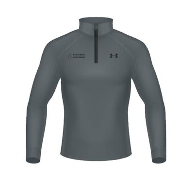 Branded Under Armour 1/2 Zip-Up - Dark Grey