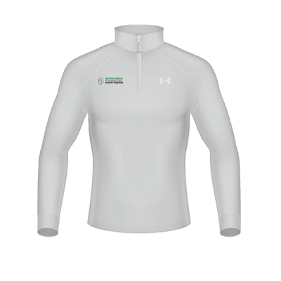Branded Under Armour 1/2 Zip-Up - Halo Grey