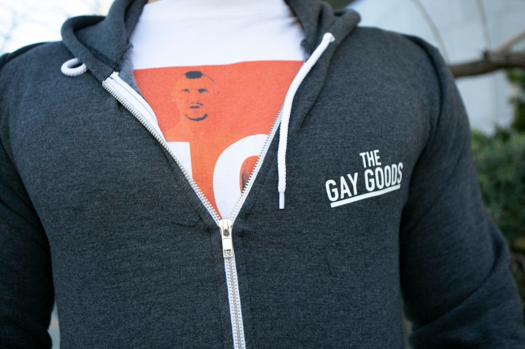 The Gay Goods Zip Hoodie