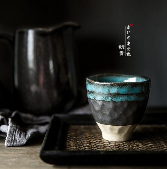 Wabi Sabi Japanese Tea Cup