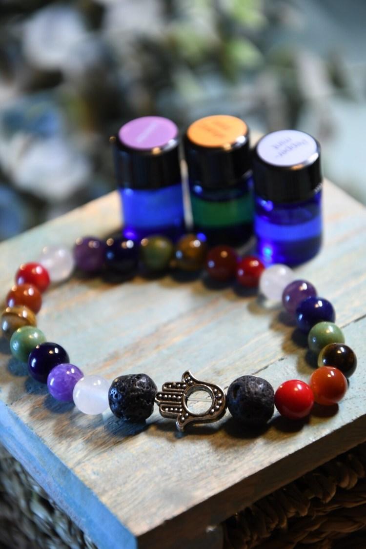 Chakra Balancing Diffuser Bracelet