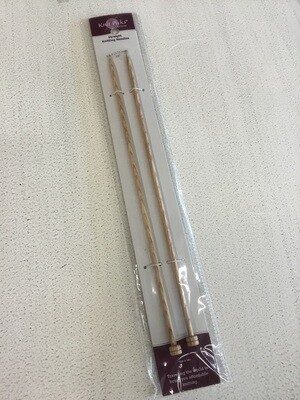"Knit Picks Sun Struck 10"" Straight Knitting Needle"