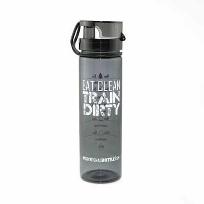 Graphite Flip Lid Motivational Bottle®