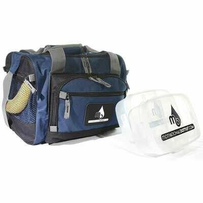 Dark Blue Motivational Meal Prep Bag®