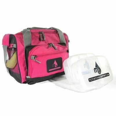 Pink Motivational Meal Prep Bag®