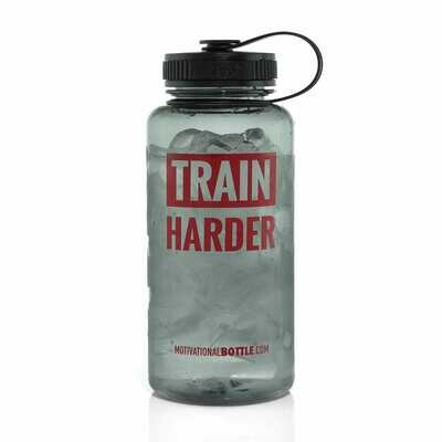 Graphite Train Harder Large Motivational Bottle®