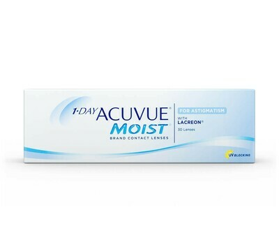 1-DAY ACUVUE® MOIST for Astigmatism da 30