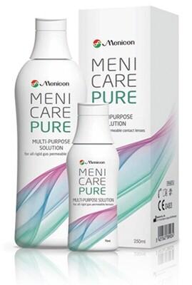 MeniCare Pure soluzione disinfettante RGP