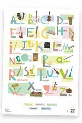 ABC-Poster: Instrumente