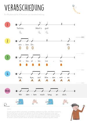 Rhythmical: Verabschiedung