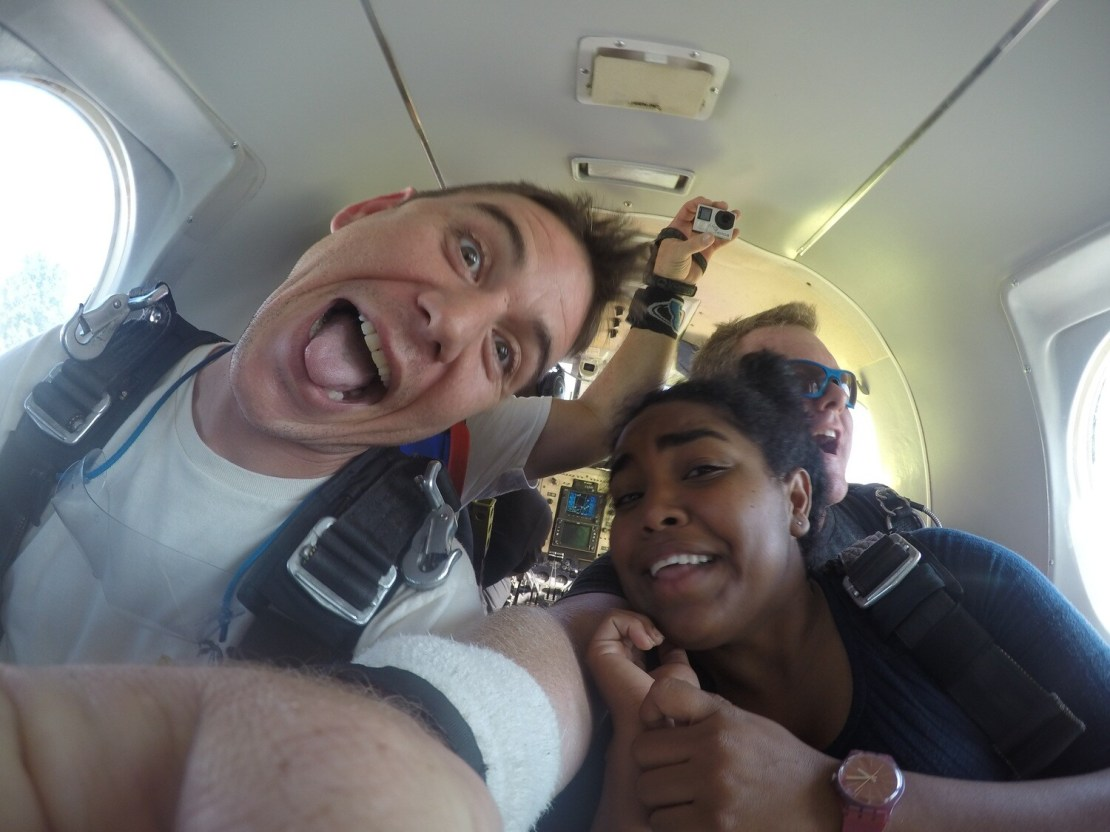 Partner up at 14,000 feet