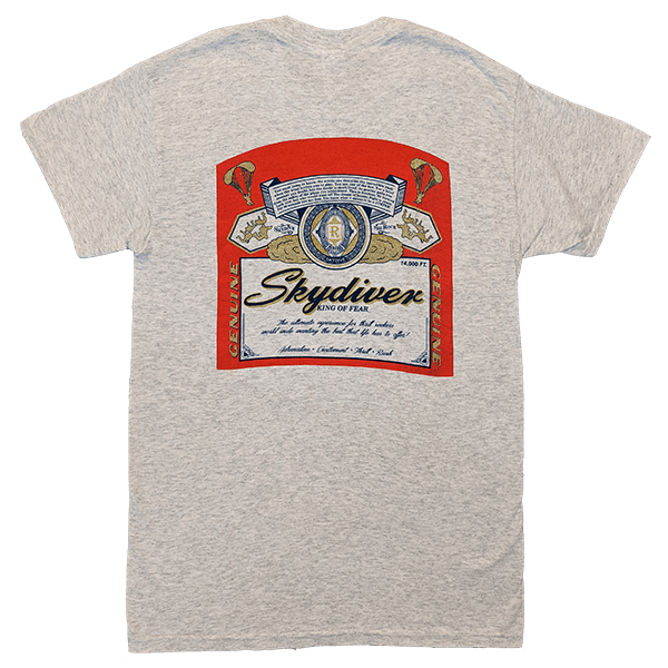 Skydive King of Fear T-Shirts