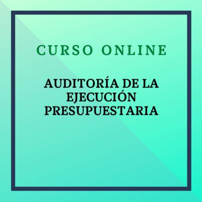 Auditoría de la Ejecución Presupuestaria. Del 2 de noviembre al 26 de diciembre de 2021