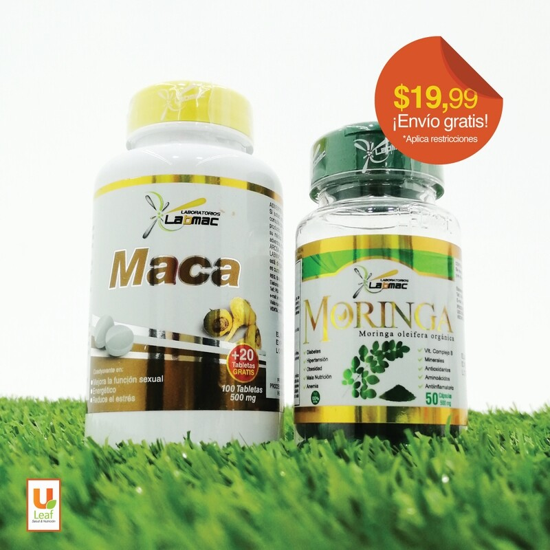 Duo Pack Maca + Moringa
