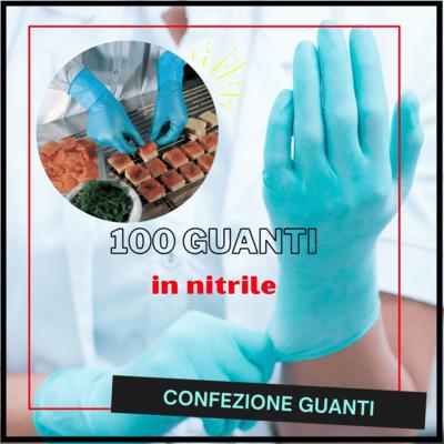 100 guanti in nitrile senza polvere - MAPA SOLO 967