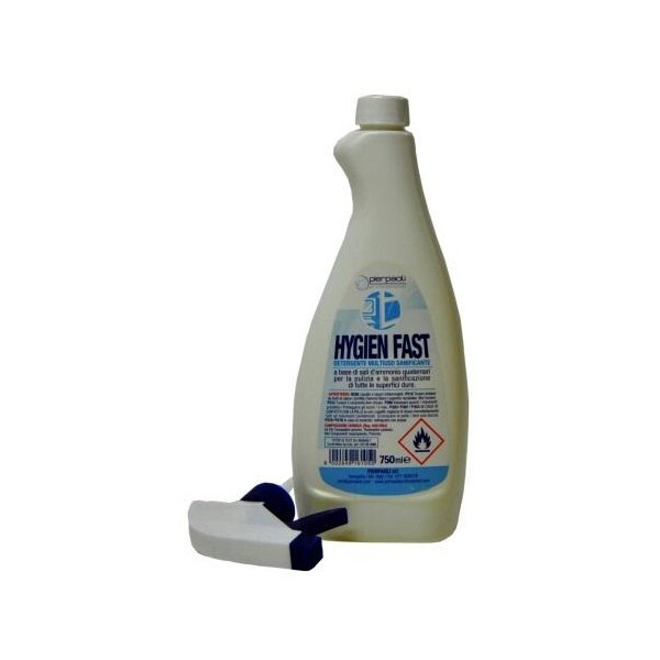 Hygien Fast - Igienizzante Professionale, 6x750ml