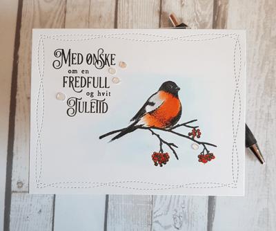 Dompap Christmas card / Julekort