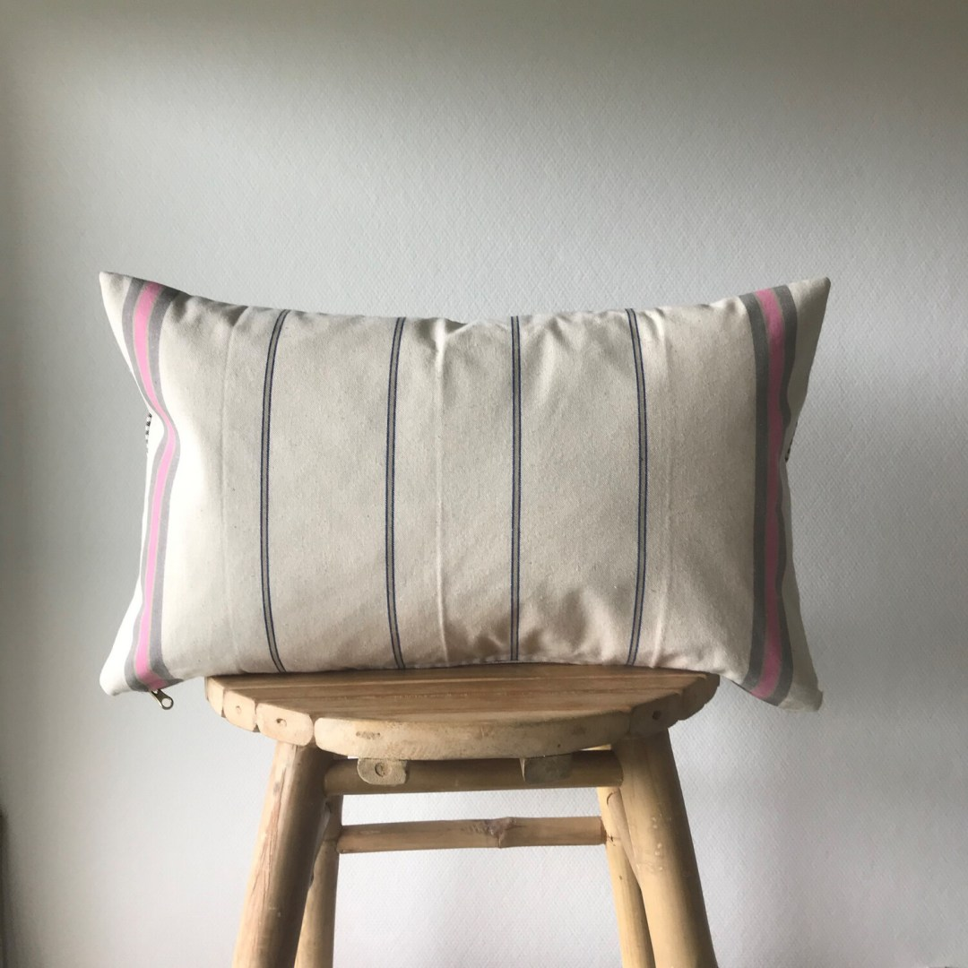 Vintage French Linen Pillow Case - Provence