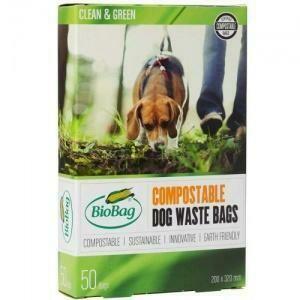 BioBag Compostable Dog Waste Bags (50)