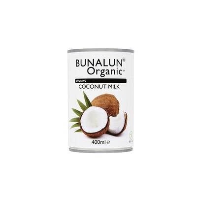 Bunalun Organic Coconut Milk 400ml