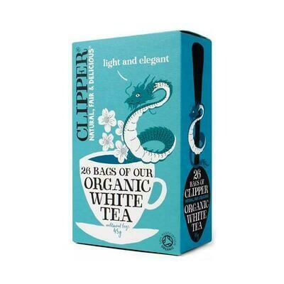 Clipper Organic White Tea 26 Bags